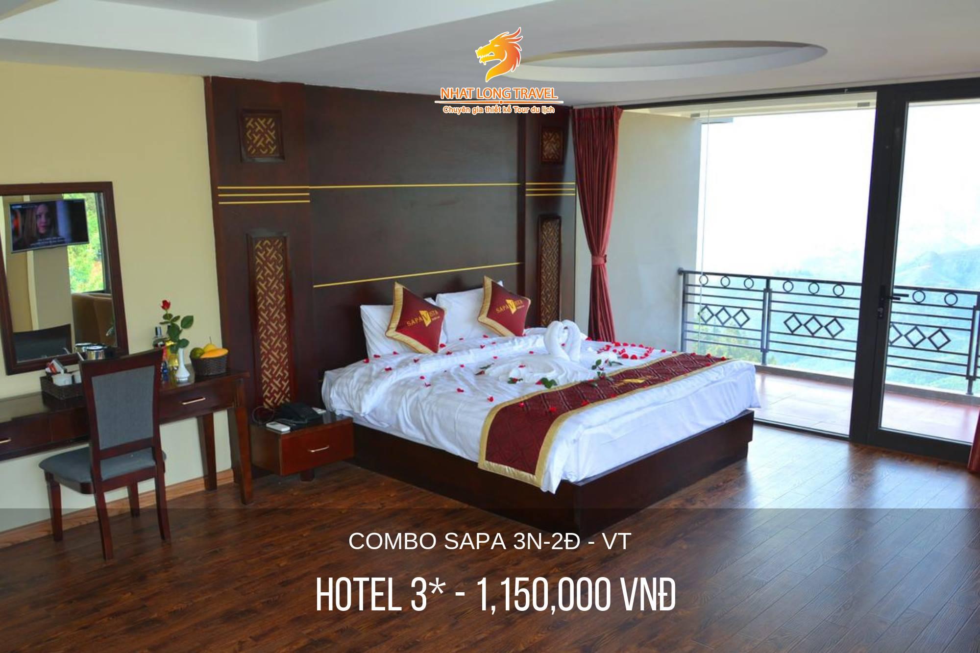 Combo Sapa 3N2Đ - Khách Sạn 3*