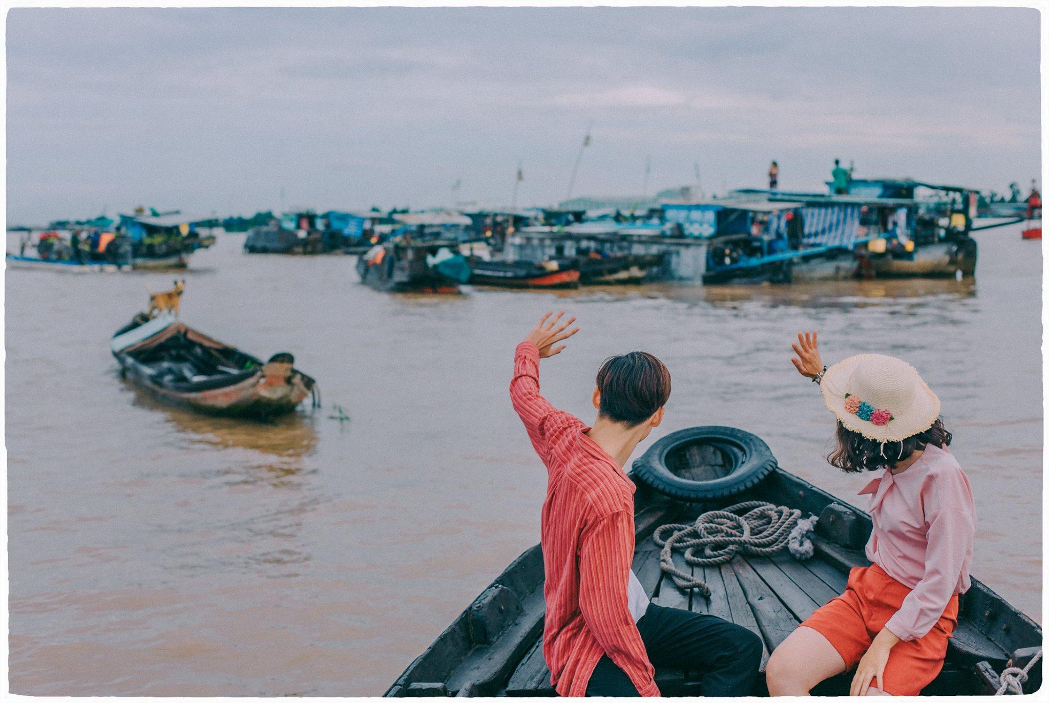 Chợ nổi Cái Răng – du lịch Sóc Trăng