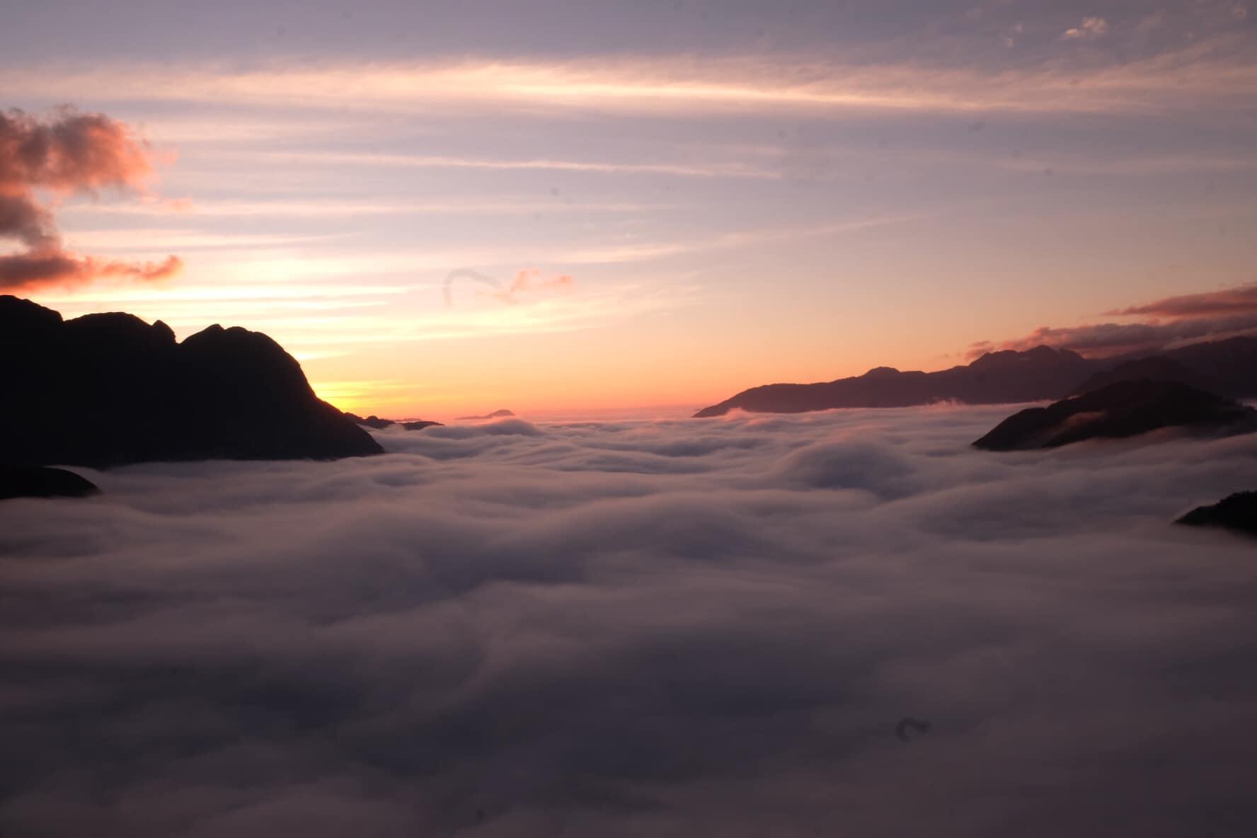Biển Mây tại đèo Ô Quy Hồ Sapa