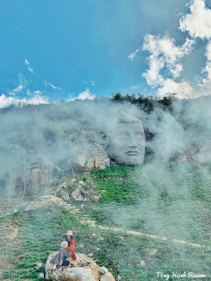 Tượng Phật trên vách núi - Điểm check in mới toanh ở bản Tả Phìn chưa nhiều người biết