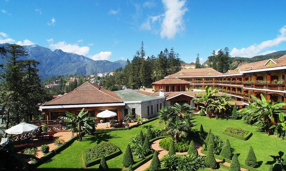 khách sạn view núi ở sapa 4