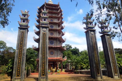 Chuà Thiên Ấn Lý Sơn